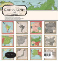 Carta Bella - Cartography No. 2, Collection Kit 12
