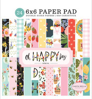 Carta Bella - Oh Happy Day Double-Sided Paper Pad 6