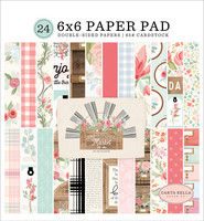 Carta Bella - Farmhouse Market Double-Sided Paper Pad 6