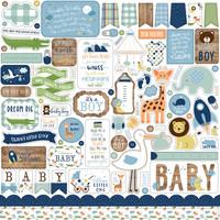 Echo Park - Baby boy Element Sticker 12