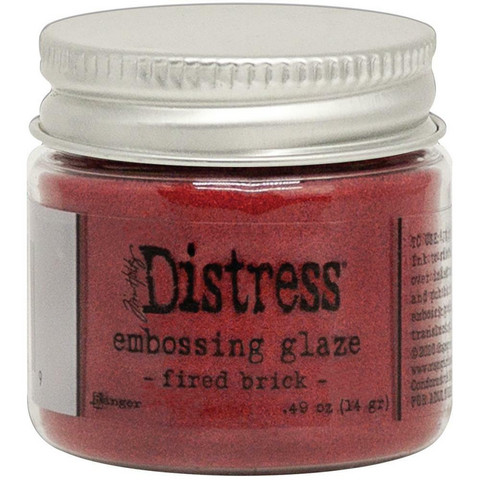 Tim Holtz - Distress Embossing Glaze, Fired Brick (T), 14g