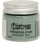 Tim Holtz - Distress Embossing Glaze, Weathered Wood (T), 14g