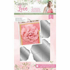 Crafter`s Companion - Sara Signature Collection Garden of Love, Stanssisetti, 3D Layered Rose