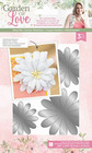 Crafter`s Companion - Sara Signature Collection Garden of Love, Stanssisetti, 3D Layered Daisy