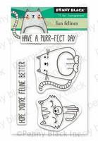 Penny Black - Fun Felines, Leimasetti
