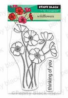 Penny Black - Wild Flowers, Leimasetti