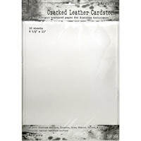Tim Holtz - Distress Cracked Leather Cardstock, 10kpl
