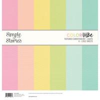 Simple Stories - Textured Cardstock Kit, Lights, 12