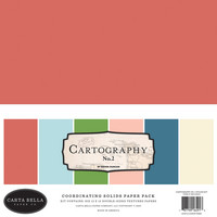 Carta Bella - Cartography No. 2, Solids Kit 12