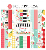 Carta Bella - Summer Market Double-Sided Paper Pad 6