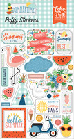 Echo Park - Summertime, Puffy Stickers