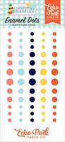 Echo Park - Summertime Enamel Dots, 60 kpl