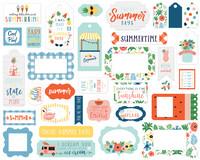Echo Park - Summertime, Frames & Tags, Leikekuvia, 33 kpl