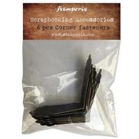 Stamperia - Corner Fasteners, 6 kpl