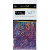 Deco Foil - Brutus Monroe Deco Foil Transfer Sheets (T), Purple Sketch