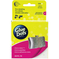 Glue Dots - Micro Dots Roll, 3mm, 325kpl