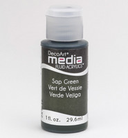 DecoArt - Fluid Acrylics, Sap Green, 29ml