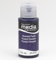 DecoArt - Fluid Acrylics, Dioxazine Purple, 29ml