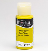 DecoArt - Fluid Acrylics, Primary Yellow, 29ml