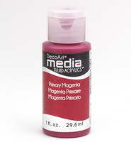DecoArt - Fluid Acrylics, Primary Magenta, 29ml