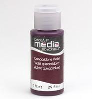 DecoArt - Fluid Acrylics, Quinacridone Violet, 29ml