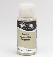 DecoArt - Fluid Acrylics, Titan Buff, 29ml
