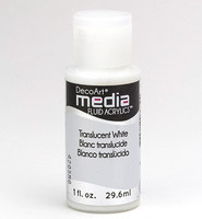 DecoArt - Fluid Acrylics, Translucent White, 29ml