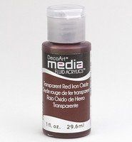 DecoArt - Fluid Acrylics, Red Iron Oxide, 29ml