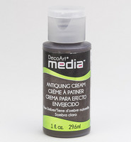DecoArt - Mixed Media Antiquing Cream, Raw Umber, 29ml