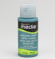 DecoArt - Mixed Media Antiquing Cream, Patina Green, 29ml