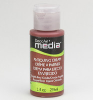 DecoArt - Mixed Media Antiquing Cream, Red Oxide, 29ml