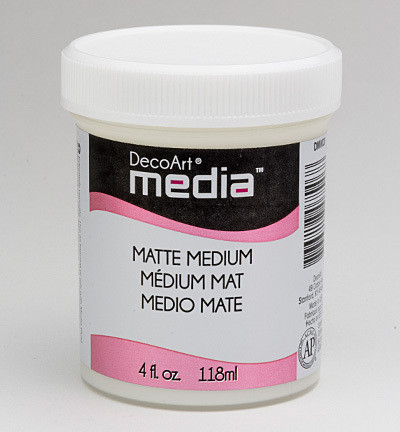 DecoArt - Matte Medium, Clear, 118ml