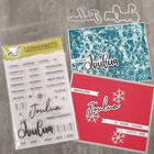 Korttipaja.fi - Jouluntoivotuksia, Leimasinsetti +stanssit