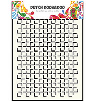 Dutch Doobadoo - Geomatric Square, A5, Sapluuna