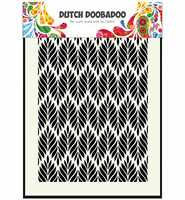Dutch Doobadoo - Floral Leaves, A5, Sapluuna