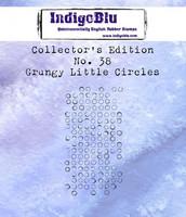 IndigoBlu - Collectors Edition 38, Grungy Little Circles, Leima
