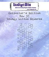 IndigoBlu - Collectors Edition 37, Grungy Little Squares, Leima