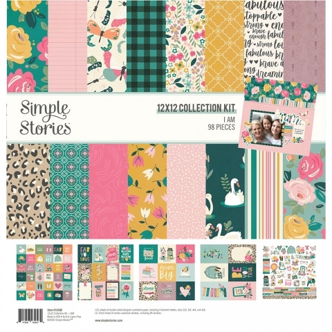 Simple Stories - I Am, Collection Kit 12
