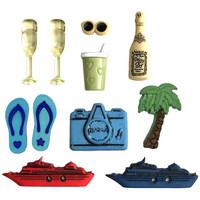 Dress It Up -  Sea Cruise, Koristenappisetti