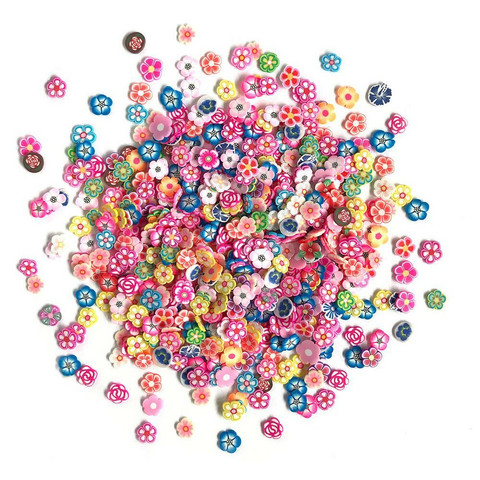 Buttons Galore - Sprinkletz Embellishments, 12g, Garden Party