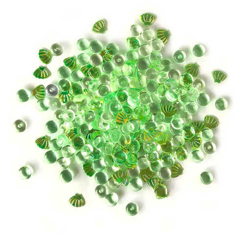 Buttons Galore - Shimmerz Embellishments, 18g, Sea Turtle