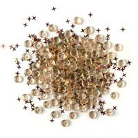 Buttons Galore - Shimmerz Embellishments, 18g, Desert Sky