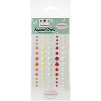 Carta Bella - Summer Market Enamel Dots, 60 kpl