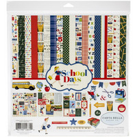 Carta Bella - School Days, Collection Kit 12