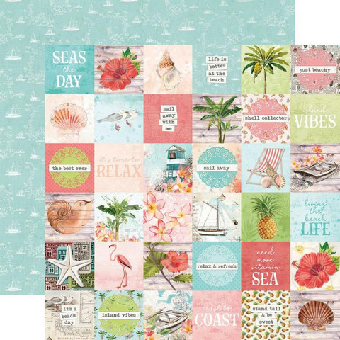 Simple Stories - Simple Vintage Coastal Double-Sided Cardstock 12