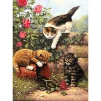 Royal&Langnickel - Paint By Numbers Kit, Kittens At Play