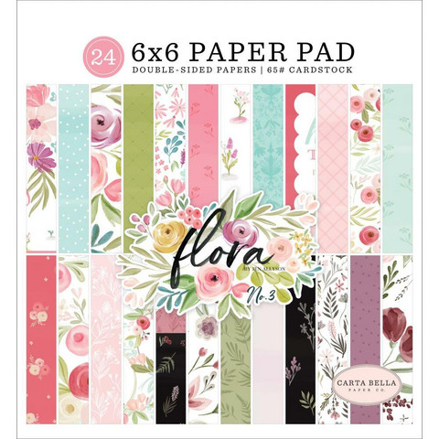 Carta Bella - Flora No. 3 Double-Sided Paper Pad 6