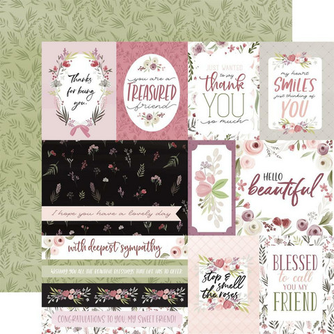 Carta Bella - Flora No. 3 Double-Sided Cardstock 12