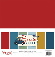 Echo Park - Scenic Route Solids Kit, 12