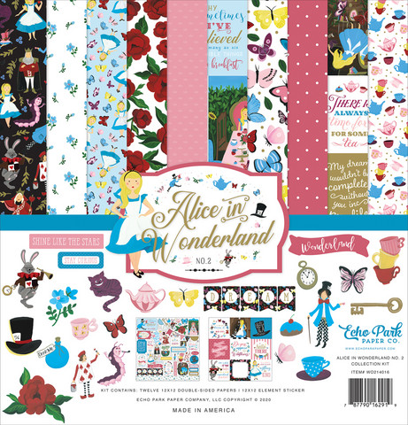 Echo Park - Alice In Wonderland No. 2, Collection Kit 12
